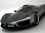 Krasnov Igor Muska supercar concept rendering