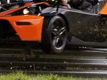KTM X-Bow crashed at the Nurburgring