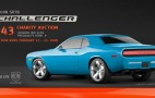 "43rd 2008 Challenger SRT8 To Be Painted ""B5 Blue"" and Auctioned Off"