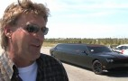 A Dodge Challenger SRT8... Limousine: Video