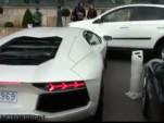 Lamborghini Aventador crashes into Toyota RAV4