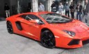 Lamborghini Aventador LP700-4 on the streets of Berlin