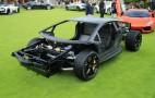 Lamborghini Aventador Rolling Chassis: 2011 Pebble Beach Concours
