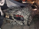 Lamborghini Aventador SuperVeloce Roadster spy shots - Image via Teamspeed forums