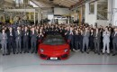 Lamborghini builds its 5,000th Aventador