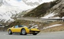 Lamborghini celebrates Miura's 50th anniversary with drive up St. Bernard Pass