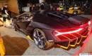 Lamborghini Centenario Revving