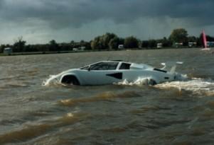Lamborghini Countach amphibious car