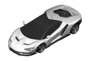 Lamborghini Design Patent
