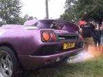 Lamborghini Diablo SV Exhaust Flames