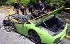 Lamborghini Gallardo Burns To A Crisp In Malaysia