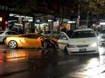 Lamborghini Gallardo crashes in Sydney