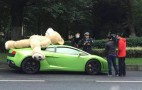 Giant Teddy Bear Not Allowed Atop Lamborghini Gallardo
