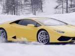 Lamborghini Huracán at Winter Driving Academy