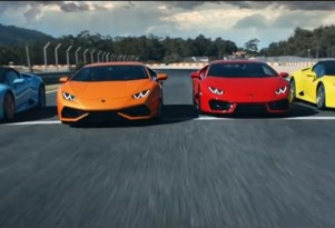 Lamborghini Huracán commercial