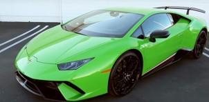 Lamborghini Huracán Performante engine rev video