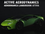 How the Lamborghini Huracán Performante's Active Aerodynamics system works