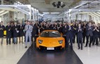 Last Lamborghini Murcielago Rolls Off The Line, Number 4,099