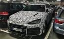 Lamborghini Urus test mule, via Rowan Horncastle