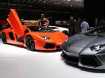 Lamborghini Aventador LP700-4 live photos
