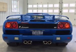 1997 Lamborghini Diablo owned by Donald Trump