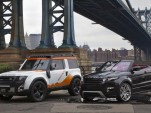Land Rover DC100 Expedition Version and Evoque Convertible Concept