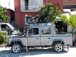 Land Rover Defender from James Bond movie Skyfall