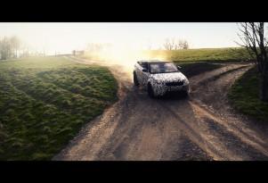 Land Rover Range Rover Evoque Convertible Testing
