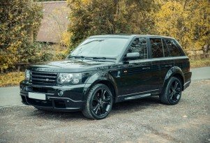 2007 Range Rover Sport owned by David Beckham