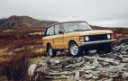 Land Rover offering factory-restored first-gen Range Rovers