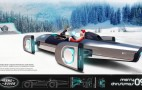 Merry Christmas! Jaguar-Land Rover Gives Santa Two Bitchin' Sleds, GE Joins Fun
