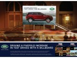 """Land Rover """"The Test Drive Billboard"""" (by Y&R/Singapore)"""