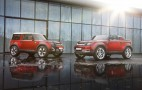 Land Rover Defender Concepts In Firenze Red Turn Up At Delhi Auto Expo