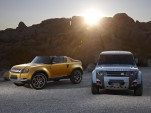 Land Rover's DC100 Sport and DC100 concepts