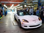 Last C6 Chevrolet Corvette built at the cars plant in Bowling Green, Kentucky