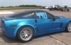1,500-HP Twin-Turbo Corvette Hits 231 MPH At Texas Mile
