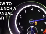 Launch a manual gearbox car? Here's what you're doing to it
