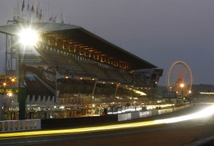 Le Mans race track in France