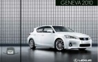 2011 Lexus CT 200h Brochure Leaked