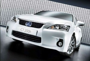 2011 Lexus CT 200h Gets 42 MPG EPA-Rated Combined Fuel Economy