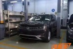 2017 Volkswagen 3-row SUV leaked