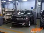 Leaked 2017 Volkswagen 3-row SUV via Auto Sina