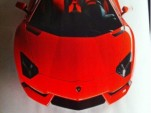 Leaked Lamborghini Aventador LP700-4 image