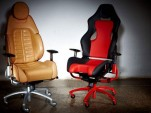 Leather and Alcantara Ferrari office chair
