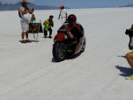 Lee Munro at Bonneville Salt Flats