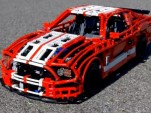 LEGO Shelby GT500 by Sheepo's Garage.