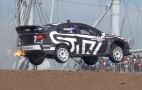 Let's go for a ride along in a 600-hp Subaru Rallycross car