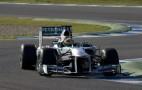 Lewis Hamilton Loses Brakes, Crashes Mercedes W04 In Testing
