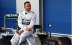Mercedes Driver Lewis Hamilton's F1 Test Crash Caught On Video