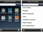 Lexus Enform iPhone App